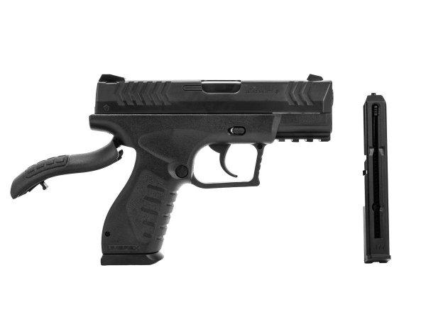 Pistolet Umarex X.B.G. black 4.5 mm