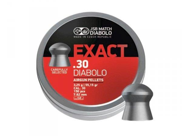 Śrut diabolo JSB Exact 7,62 mm 150 szt. 3,25 g