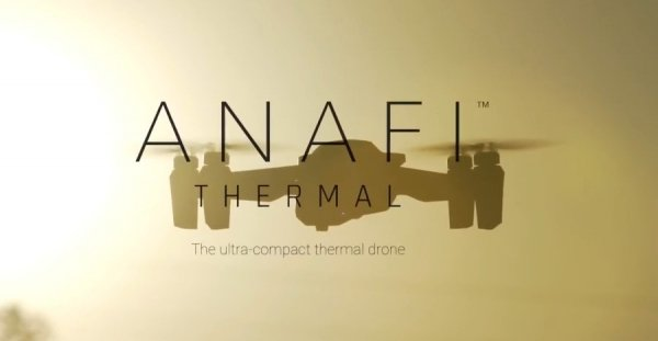 Dron z kamerą termowizyjną Parrot Anafi Thermal