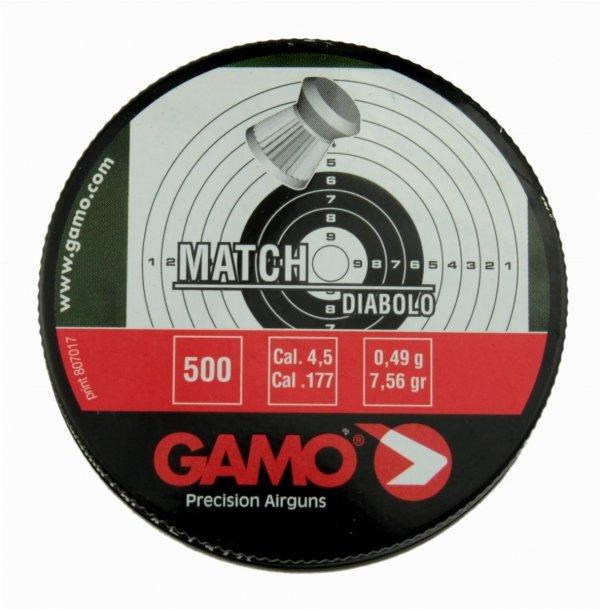 Śrut Gamo Match Diabolo 4,5mm 500szt.