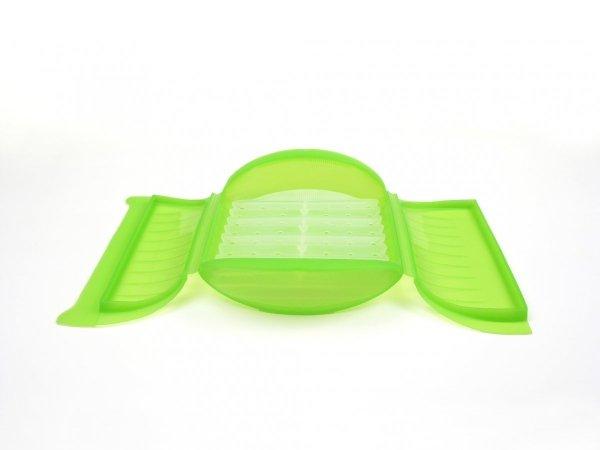 Naczynie żaroodporne z wkładką średnie - zielone Lekue