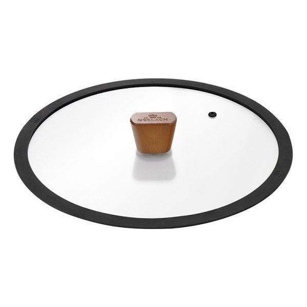 Gerlach Patelnia z powłoką ceramiczną Natur 24 cm z pokrywką!
