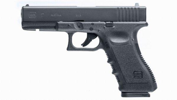Pistolet wiatrówka Glock 17 blowback 4.5 mm BB/Diabolo CO2