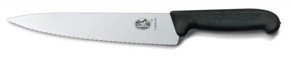 Nóż do mięsa Fibrox z ząbkowanym ostrzem 5.2033.25 + kurier GRATIS