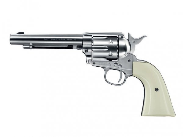 Rewolwer Colt Single Action Army .45 4.5 mm nikiel