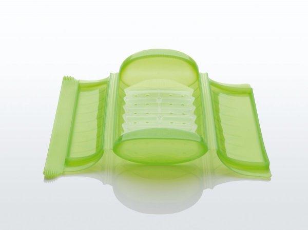 Naczynie żaroodporne z wkładką małe - zielone Lekue