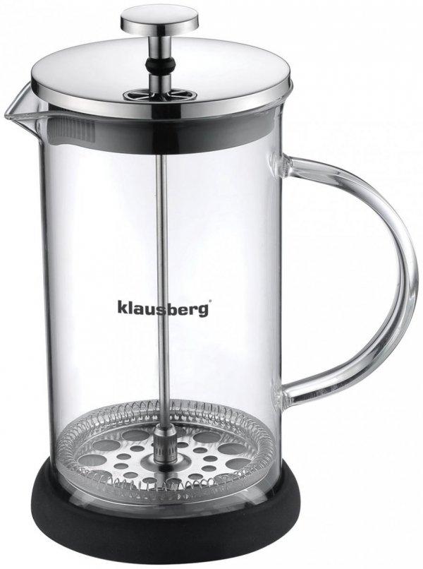 Klausberg Zaparzacz Do Kawy/Herbaty Z Dociskiem 600ml Kb-7116
