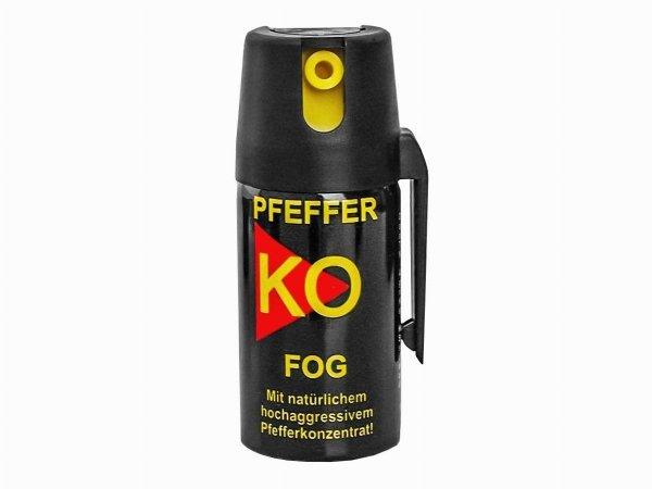 Gaz obronny pieprzowy KO FOG 40 ml - stożek