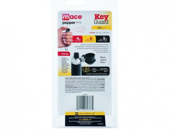 Gaz pieprzowy Mace KeyGuard Mini Black - 4 ml stożek (80366)
