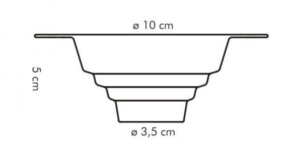 Lejek uniwersalny PRESTO, ø 10 cm Tescoma