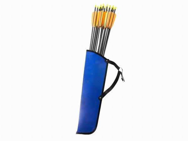 Kołczan na strzały Cartel z cordury niebieski Junior