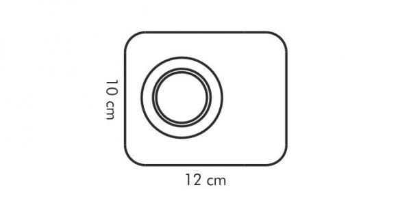 Kieliszek na jajko GUSTITO, 12x10 cm