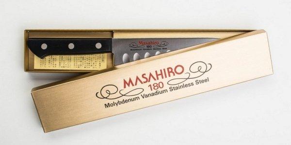 Nóż Masahiro BWH Chef Dimple 180mm [14080]