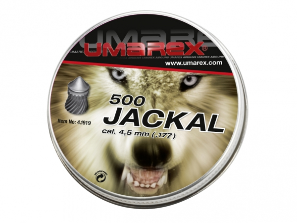 Śrut Umarex Jackal Pointed Ribbed 4.5 mm 500 szt.