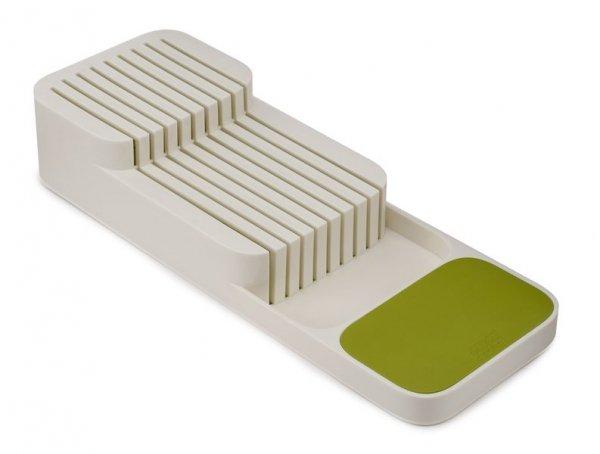 JJ - Organizer na noże, biały/zielony, DrowerStore