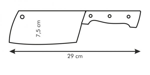 Tasak HOME PROFI 16 cm Tescoma