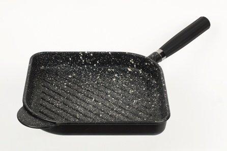 Granit Patelnia Grill 28x28 cm G060kk