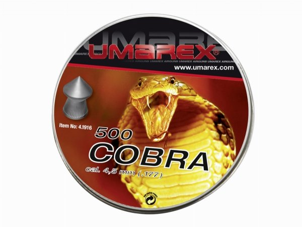 Śrut Umarex Cobra Pointed Ribbed 4.5 mm 500 szt.