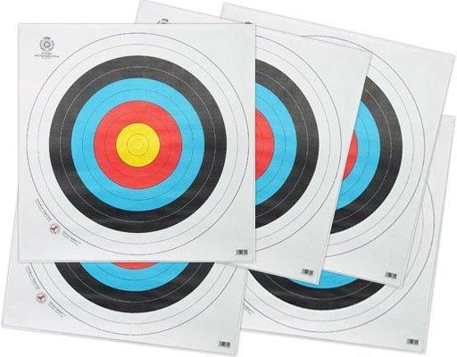 Tarcza łucznicza z nitkami 40 x 40 cm zestaw 5 szt. (TAR.40.5)