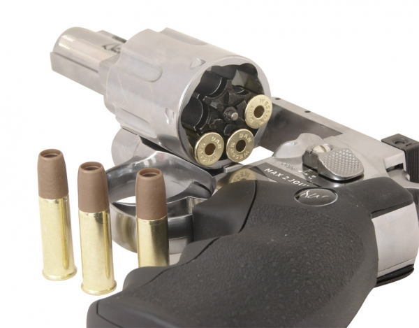 Rewolwer ASG CO2 Dan Wesson 4'' Silver (16181)