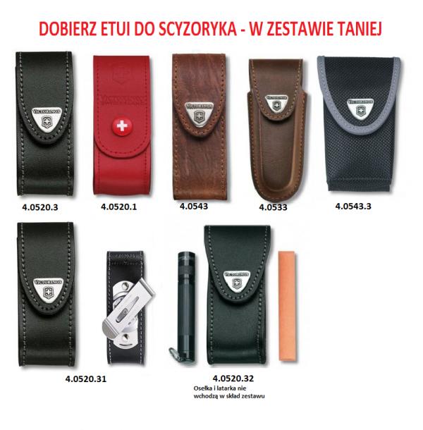 Victorinox Huntsman 1.3713.3 Czarny Wysyłka Kurierem 0 zł