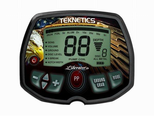 """Wykrywacz metali Teknetics Liberator 11"""" i 5'' zestaw"""
