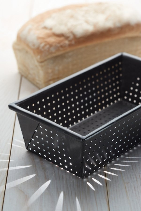 Kitchen Craft Forma prostokątna (keksówka) CRUSTY BAKE perforowana