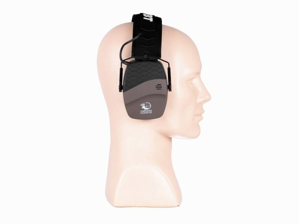 Słuchawki RealHunter Active ProSHOT BT brązowe