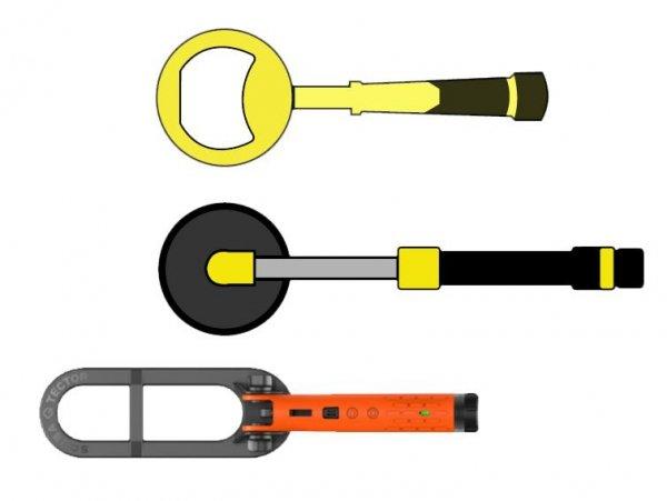 Podwodny wykrywacz metali Quest Metal Detectors Scuba Tector Pro