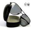 Zeus - Okulary Fotochromowe Polaryzacyjne - Czarne