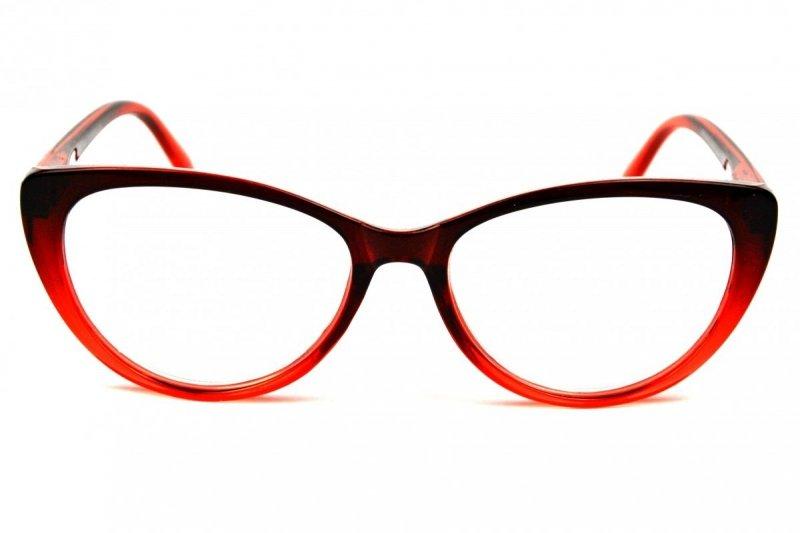 Betty +1,5 - Okulary Korekcyjne - Czerwone