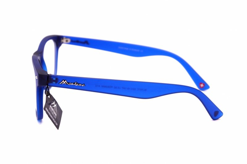Clever +2,5  - Okulary Korekcyjne do pracy przy komputerze - Niebieskie