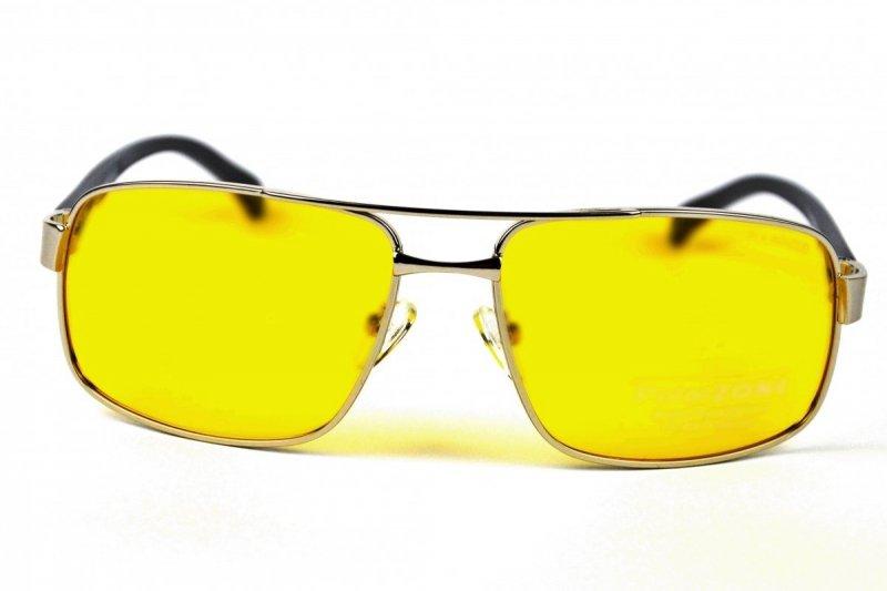 Midnight - Okulary Polaryzacyjne do Jazdy Nocnej - Srebrne