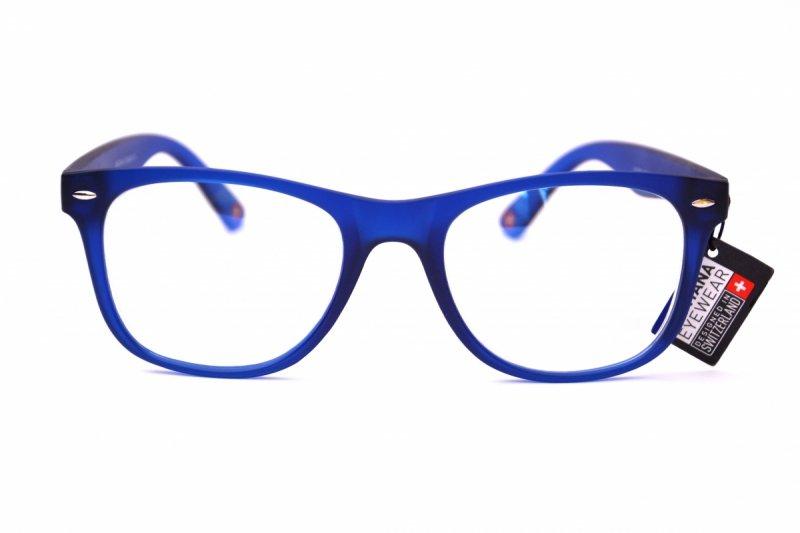Clever +3,5  - Okulary Korekcyjne do pracy przy komputerze - Niebieskie