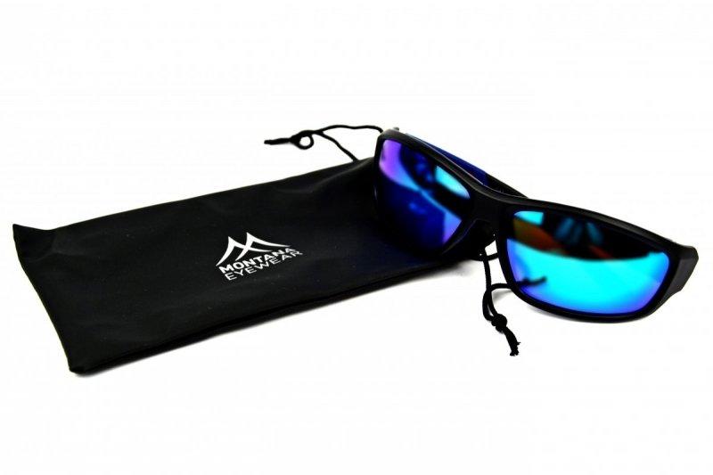 Champ - Okulary Polaryzacyjne - Niebieskie