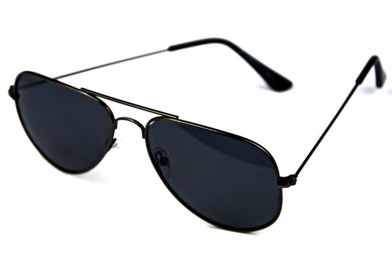 Aviator - Okulary Polaryzacyjne  - Szare