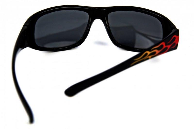 Fireball - Dziecięce Okulary Polaryzacyjne - Czarne