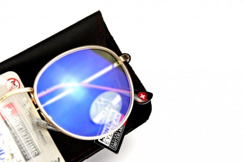 Gemis +3,5  - Okulary Korekcyjne do pracy przy komputerze - Złote