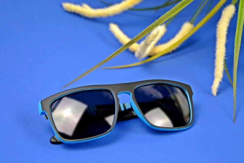 University - Okulary Polaryzacyjne - Niebieskie