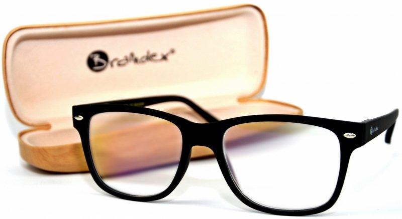 Black Laguna +2,5 - Okulary Korekcyjne z Antyrefleksem