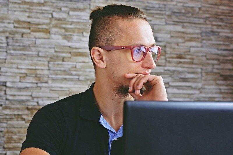 Clever - Okulary do pracy przy komputerze - Czerwone