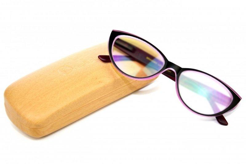 Claw +1,5 - Okulary Korekcyjne z Antyrefleksem - Róż