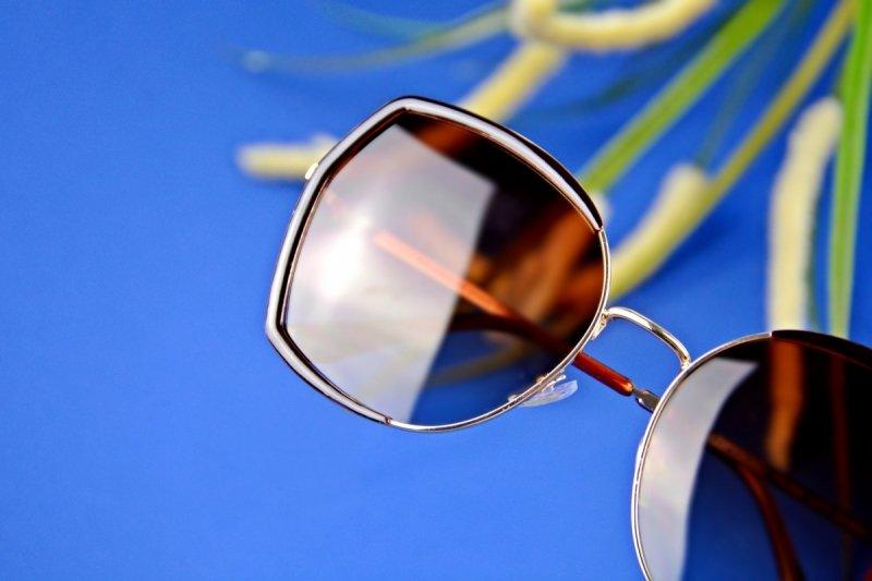 Laura - Okulary Polaryzacyjne - Brązowe