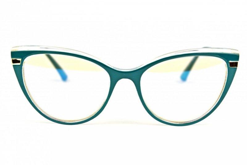 Forest - Okulary do pracy przy komputerze - Niebieskie