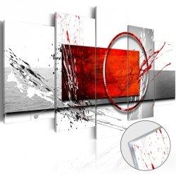 Obraz na szkle akrylowym - Zimowa ekspresja [Glass]