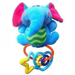 Zabawka grzechotka słoń