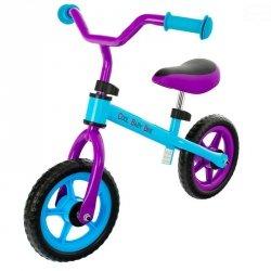 Rowerek bieg cool blue/purple