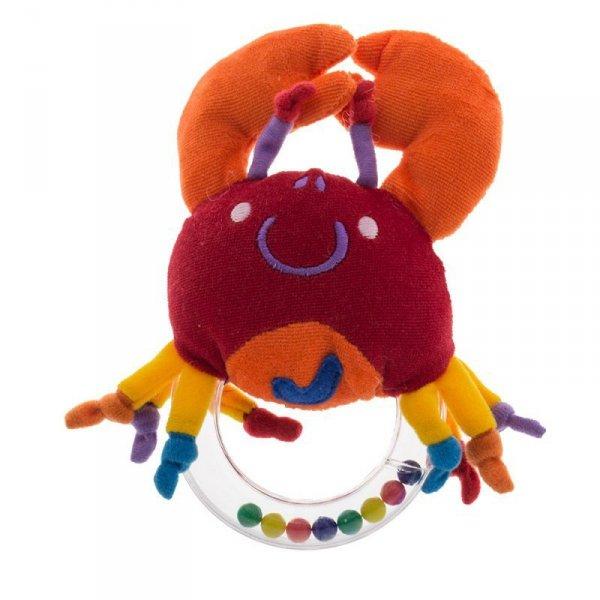 Zabawka grzechotka krab