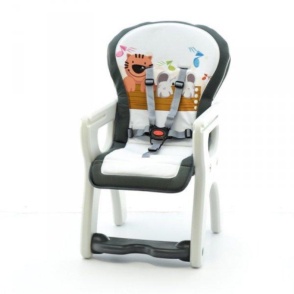 Krzesełko + stół hb-gy01 grey tiger