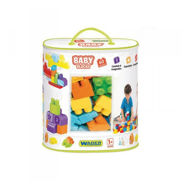 Baby blocks torba 60 szt.